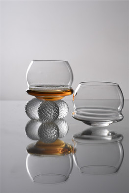 Crystal Whiskey Glass by Sipek