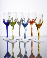 Sipek design wine glasses