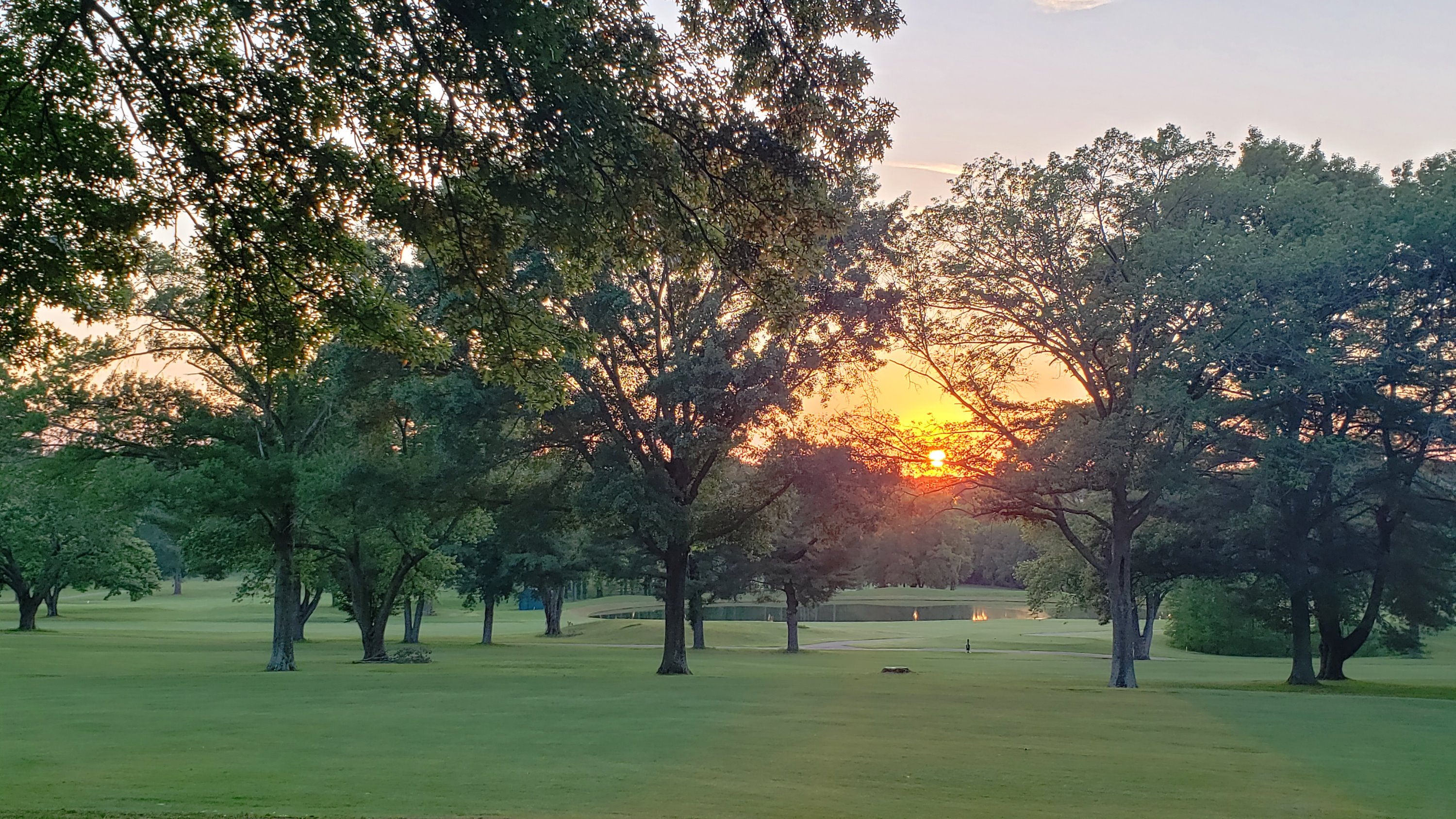 Graymere CC Golf Course at Sunset