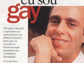 """Matéria """"Chefe, eu sou gay"""""""