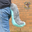 Thumbnail: Medium Grey&Blue Canine Tail