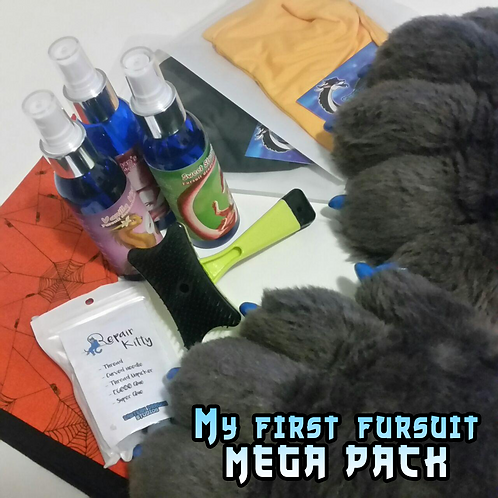 My first fursuit care pack - MEGA