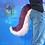 Thumbnail: Medium Purple & Baby Pink Canine Tail