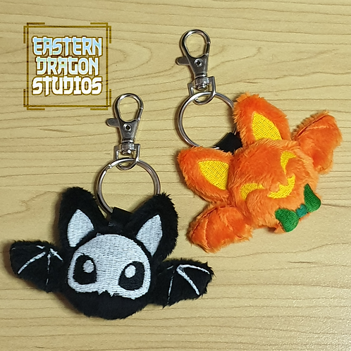 Cute Bat Keychain