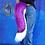 Thumbnail: Large Purple & White Canine Tail