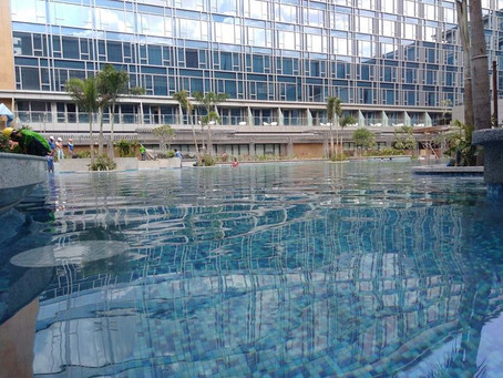 Another masterpiece swimming pool project ( Hilton and Sheraton Manila)