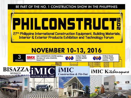 iMIC Joins Philconstruct 2016