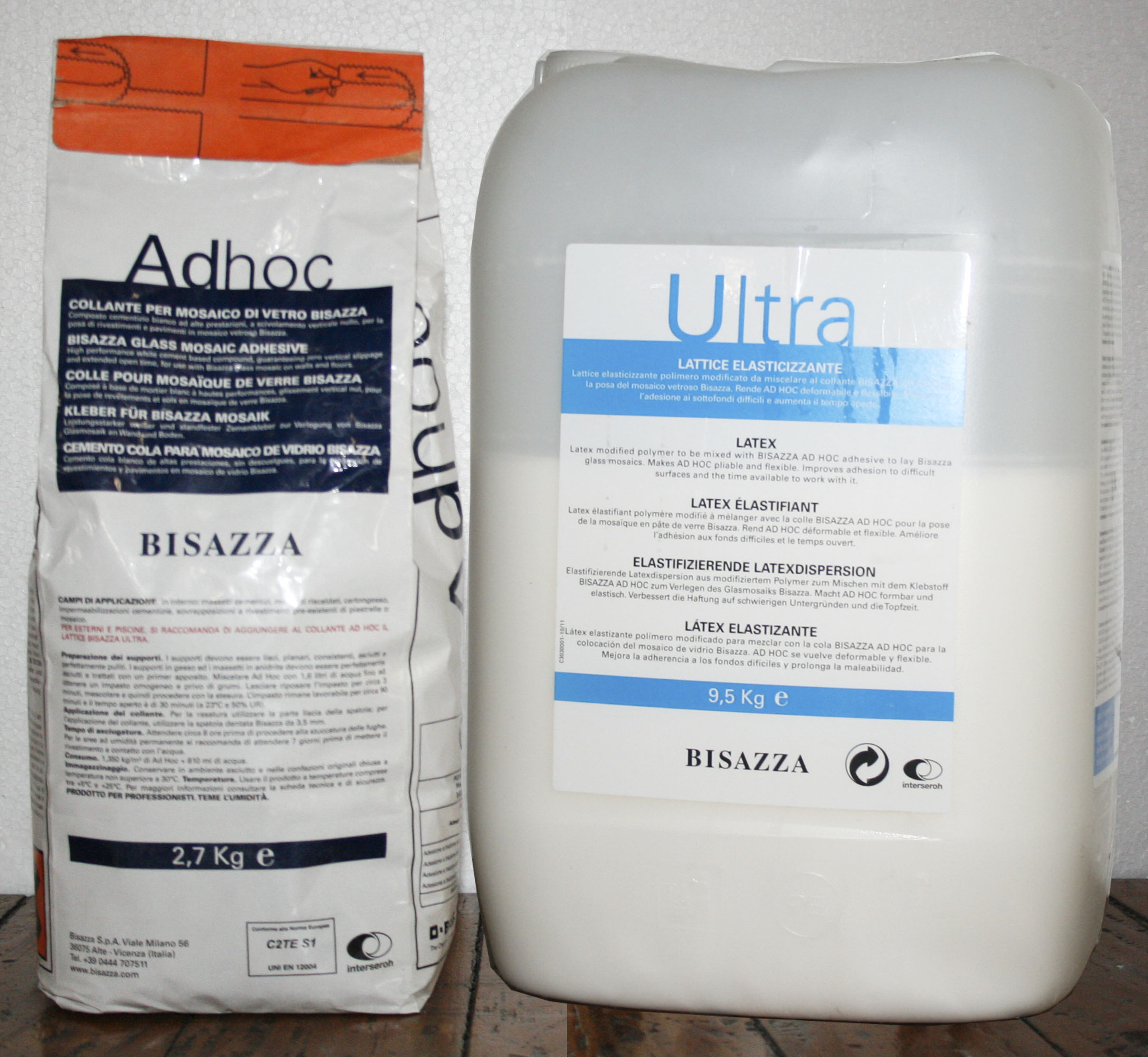 Adhesive and Grout