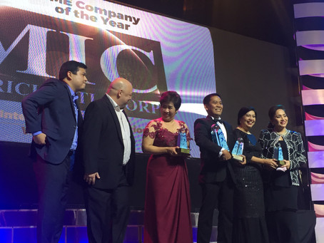 iMIC as SME Company of the Year of Asia CEO Awards 2016