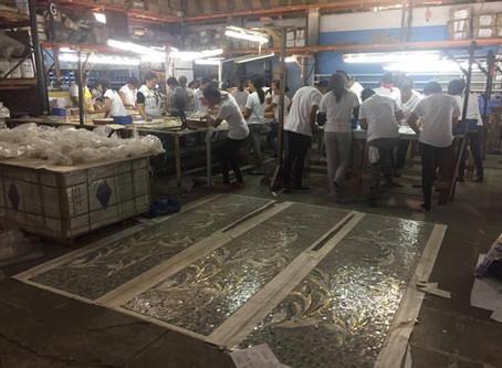 Hand Cut Production for Resort World Manila