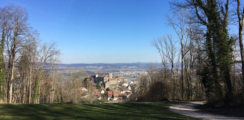 Blick auf Regensdorf