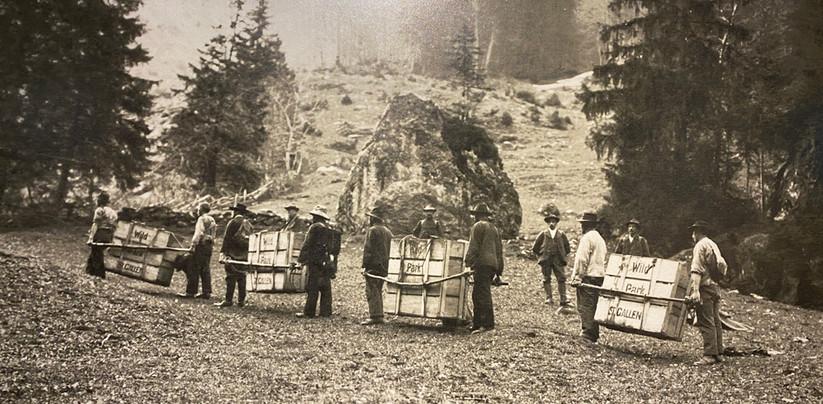 Aussetzung Steinböcke im Rappenloch