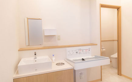 朝霞台駅前みなみ耳鼻咽喉科 外来トイレ