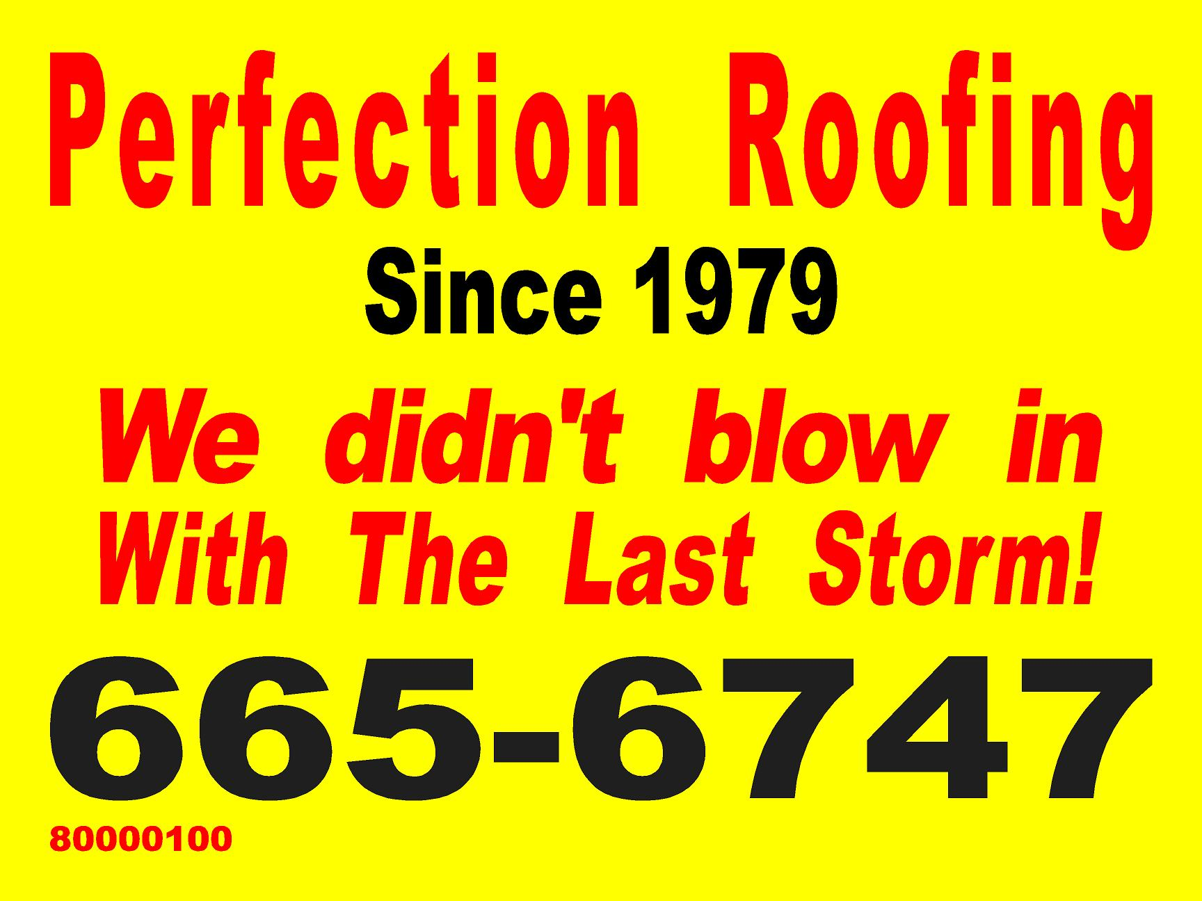 Perfection Roofing 1