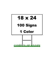 Bundle 100  (18x24)