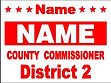 Commission Yard Sign