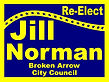 Reverse image campaign sign
