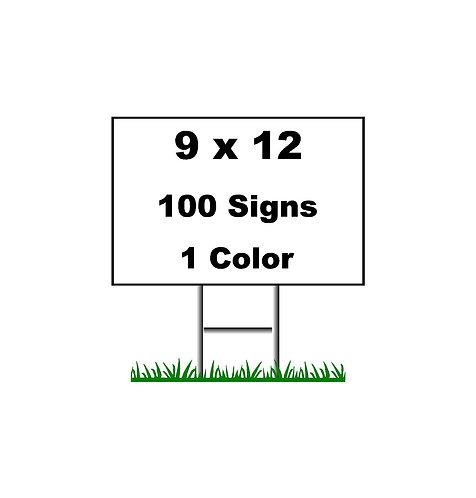 100 (9x12)