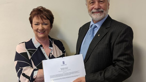 Local MSP celebrates Kirkintilloch Rotary Club