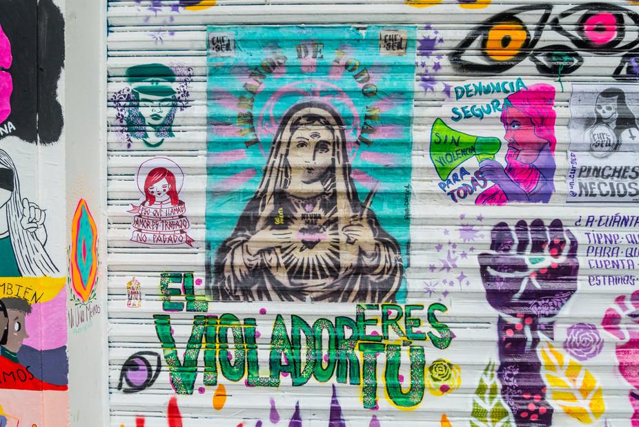 MURAL MEXICANAS UNIDAS