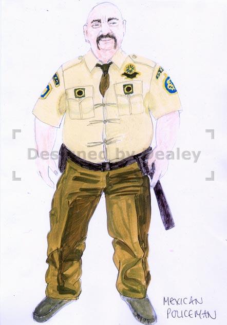 Mexican Policeman