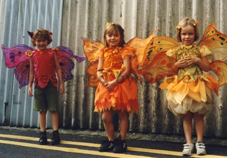 Flower Fairy costumes