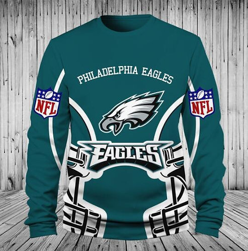 *OFFICIAL-N.F.L.PHILADELPHIA-EAGLES/3D-CUSTOM-GRAPHIC-PRINTED-PREMIUM-TEAM-TEES*