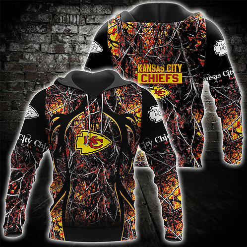OFFICIAL-N.F.L.KANSAS-CITY-CHIEFS-TEAM-PULLOVER-HOODIE/NEW-CUSTOM-3D-ORANGE-CAMO