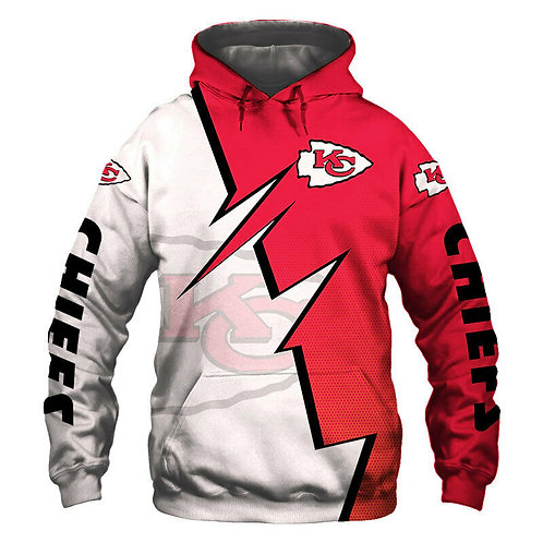OFFICIAL-N.F.L.KANSAS-CITY-CHIEFS-FASHION-PULLOVER-TEAM-HOODIE/CUSTOM-3D-DESIGN!