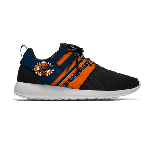 NEW-OFFICIAL-N.F.L.CHICAGO-BEARS-LIGHT-WEIGHT/ALL-CUSHIONED-SPORT-RUNNING-SHOES