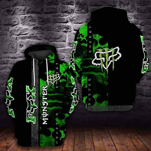 OFFICIAL-FOX-RACING-FASHION-SPORT-PULLOVER-HOODIES/NEW-CUSTOM-3D-GRAPHIC-DESIGN!