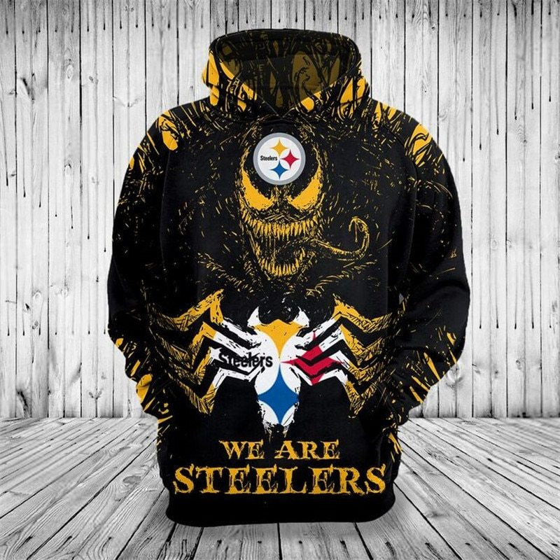 free shipping 495fa 2da26 **(OFFICIAL-N.F.L.PITTSBURGH-STEELERS-PULLOVER-HOODIES)**