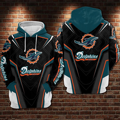 OFFICIAL-N.F.L.MIAMI-DOLPHINS-TEAM-PULLOVER-HOODIES/COSTOM-3D-GRAPHIC-DESIGNED!!