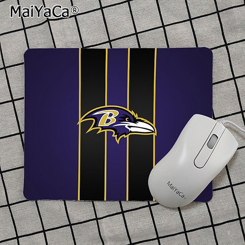 OFFICIAL-N.F.L.BALTIMORE-RAVENS-TEAM-MOUSE-PAD/NEW-CUSTOM-3D-RAVENS-LOGO-DESIGN!