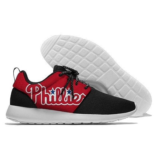 OFFICIAL-M.L.B.PHILADELPHIA-PHILLIES-LIGHT-WEIGHT/CUSHIONED-SPORT-RUNNING-SHOES!
