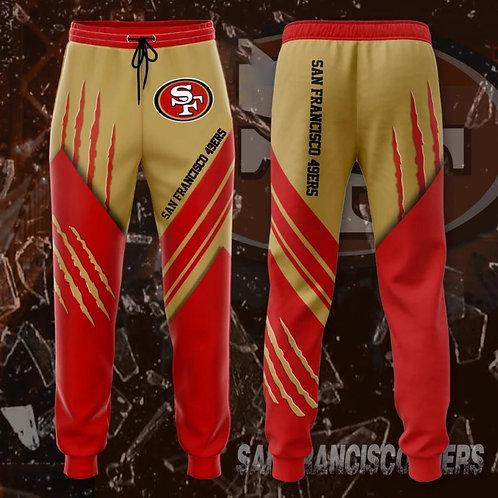 OFFICIAL-N.F.L.SAN-FRANCISCO-49ERS-TEAM-SWEAT-PANTS/NEW-CUSTOM-3D-WERE-THE-49ERS