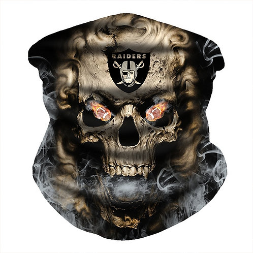 OFFICIAL-N.F.L.LAS-VEGAS-RAIDERS-FACE & GAITER-NECK-SCARF/MULTI-USE-SPORT-MASK!!