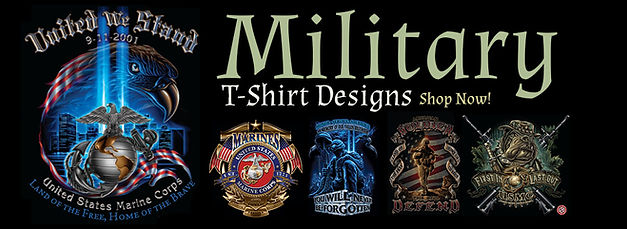3D GRAPHIC MILITARY TEES & HOODIES
