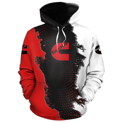 OFFICIAL-NEW-CUMMINS-PULLOVER-HOODIES/NEW-3D-CUSTOM-PRINTED-DOUBLE-SIDED-HOODIES