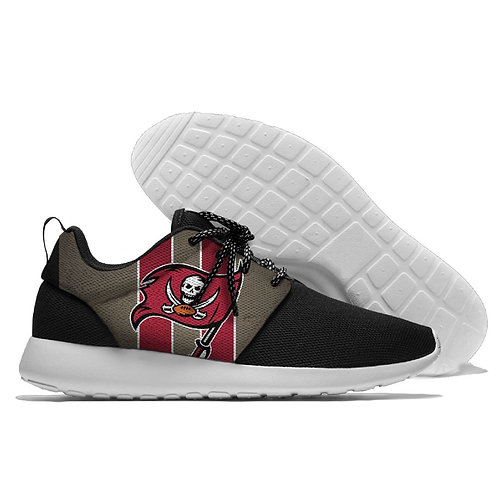 *OFFICIAL-N.F.L.TAMPA-BAY-BUCCANEERS-LIGHT-WEIGHT/CUSHIONED-SPORT-RUNNING-SHOES*