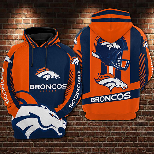 OFFICIAL-N.F.L.DENVER-BRONCOS-TEAM-PULLOVER-HOODIES/COSTOM-3D-GRAPHIC-PRINTED!!