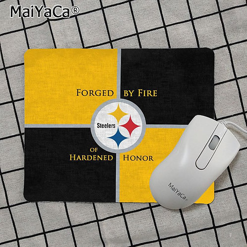OFFICIAL-N.F.L.PITTSBURGH-STEELERS-TEAM-MOUSE-PAD/CUSTOM-3D-STEELERS-LOGO-DESIGN