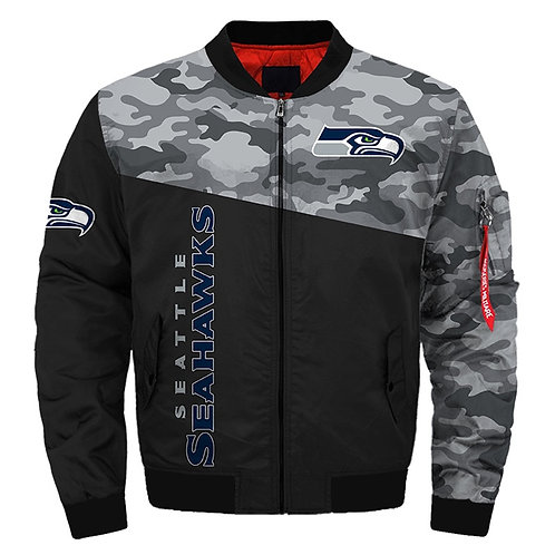 OFFICIAL-N.F.L.SEATTLE-SEAHAWKS-CAMO.JACKET/NEW-PREMIUM-CUSTOM-3D-GRAPHIC-DESIGN
