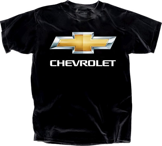 OFFICIAL-CHEVY-TEES & CLASSIC-OFFICIAL-CHEVY-LOGO/3D-CUSTOM-GRAPHIC-PRINTED-TEES