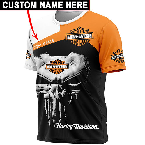 OFFICIAL-HARLEY-DAVIDSON-SPORT-TEES/WE-CUSTOMIZE-WITH-YOUR-NAME-OR-ANYTHING-ELSE