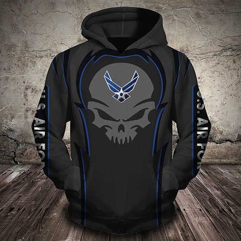 OFFICIAL-NEW-U.S.AIR-FORCE-VETERANS/3D-GRAPHIC-PRINTED-PREMIUM-PULLOVER-HOODIES!