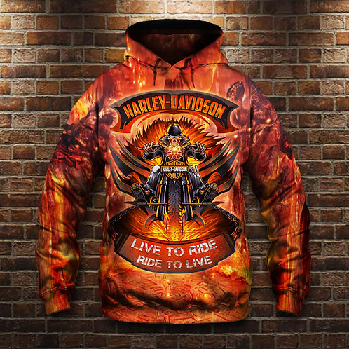 OFFICIAL-HARLEY-DAVIDSON-PULLOVER-HOODIE/3D-CUSTOM-GRAPHIC-PRINTED-HARLEY-DESIGN