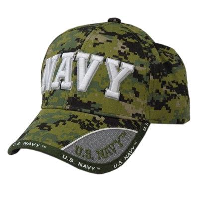OFFICIAL-U.S.NAVY-DIGITAL-CAMO.VETERANS-HAT/NEW-CUSTOM-3D-GRAPHIC-NAVY-LETTERING