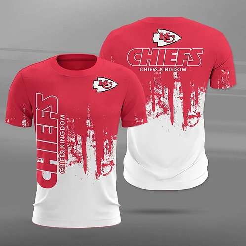 OFFICIAL-N.F.L.KANSAS-CITY-CHIEFS-TEAM-TRENDY-TEES/CUSTOM-CHIEFS-KINGDOM-SLOGAN!