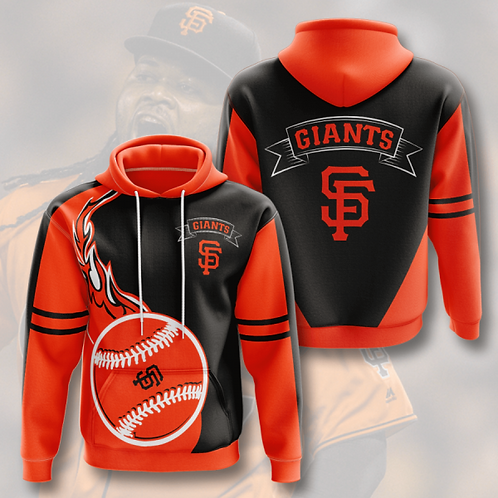 OFFICIAL-M.L.B.SAN-FRANCISCO-GIANTS-TEAM-HOODIE/CUSTOM-3D-GRAPHIC-PRINTED-DESIGN